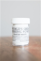 Glacier White Embossing Powder