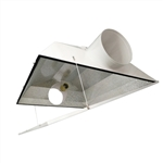 Hydro Crunch Extra Large Air Cooled with 6-inch Duct & Glass Panel Grow Light Reflector
