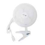 Hydro Crunch  6-inch 2-Speed Clip-On Fan 120V