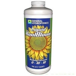 General Hydroponics Liquid KoolBloom 1 Quart
