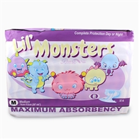 Lil Monsters, Rearz Brand Adult Diapers Case