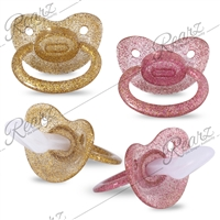 Glittery Pacifiers - Sparkle Twilight