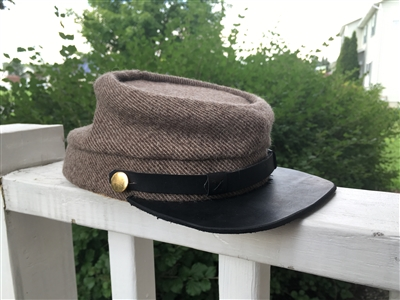 Confederate Kepi - Antique wool