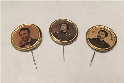 Ferrotype Stick Pins