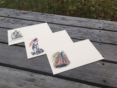 Navy Stationery Set