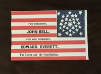 John Bell Campaign Flag