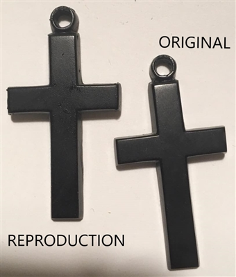 Gutta Percha Cross Pendant