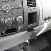 Panavise, In-Dash, Chevrolet Silverado (Vents Beside Radio) 1500, 2500&3500HD, GMC Sierra 07~11