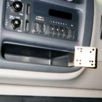 Panavise, In-Dash, Chevrolet Express (G-Series) 1996~2000, G-Series Van 1996-2000 ; GMC G-series Van 1999