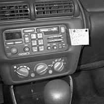 Panavise, In-Dash, Pontiac Grand Prix - SE 96