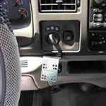 Panavise In-Dash, Ford Excursion 00-05, F-Series Super Duty F-250, 350, 450, 550 98-05 (751072398)