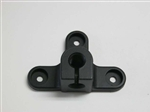 Panavise Replacement Trifoot for flex shafts, black, w/o fasteners