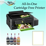All-In-One Cartridge Free Cake Printer with Edible Ink / VIF Sheets