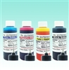 4 oz - Black/Cyan/Magenta/Yellow Edible Ink Refill Bottle Combo for Canon Printer
