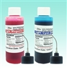 4 oz - Light Cyan & Light Magenta Edible Ink Refill Bottle Combo for Epson Printer