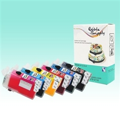 Refillable T0791/ T0792/ T0793/ T0794/ T0795/ T0796 Edible SpongeFree® Cartridge Set