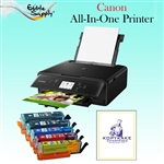 Canon All-In-One Printer with XL Refillable Edible Ink Cartridge Combo / 24 KopyKake Frosting Sheets