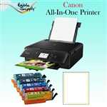 Canon All-In-One Printer with XL Refillable Edible Ink Cartridge Combo / 24  Vif Edible Sheets