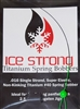 Ice Strong Titanium (Tie On) Spring Bobbers