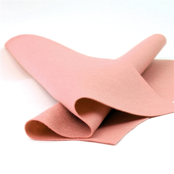 French Peach Felt Sheet