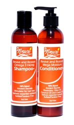Revive and Restore Omega Shampoo and Conditioner