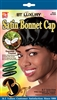 Coconut Oil Treated Open Top Tie Satin Sleep Bonnet