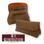 4th Generation Leather Tobacco Pouch/Pipe Carrier Combo Bag