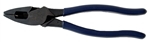 "Klein 9"" High-Leverage Side-Cutting Pliers - Fish Tape Pulling"