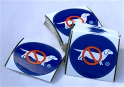 No-Dog Logo Sticker