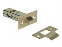 Tubular Mortice Latches - Nickel