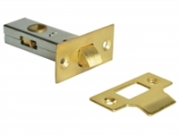 Tubular Mortice Latches - Brass