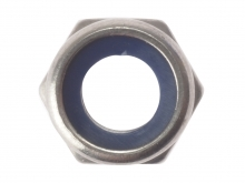Hexagonal Nylon Locking Nut Stainless Steel