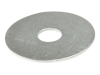 Flat Mudguard Washers - Zinc Plated - Bag