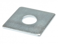 Square Plate Washers - Zinc Plated - Bag