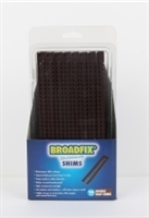 Broadfix Snap Wedge Shims - Clampack - Brown Plastic -  - Plastic - Box Qty = 16 x 12 Outer Pack(s)