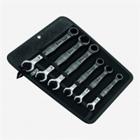 Wera Joker Ratchet/Com/DB Open End Spanner Set - 6 piece
