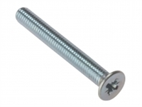 Machine Screw - Countersunk Head - Zinc Plated - Bag