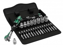Wera 8100 SA 6 Zyklop Ratchet Set - Metric