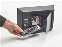 Vecta Personal Safe-Gunmetal Grey