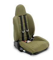 Energy Attenuating 9-Position Reclining Seat