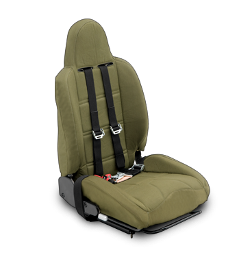 Energy Attenuating Aluminum 9-Position Reclining Seat