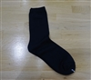 (Best; 3rd Reorder) Black Luxe Stocking Socks