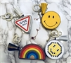 Coin Purse and Key Chain (giveway/DotHappyFace/HappyFace/rainbow) (will ship within 1~2 weeks)