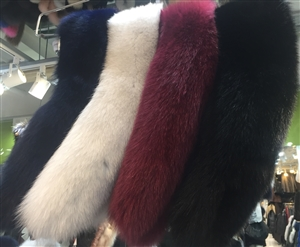 (Pre-Order) Finland Saga Fox Fur (Navy/Silver/Wine/Brown/Green/Gray/Black/Pink) (will ship within 1~2 weeks)