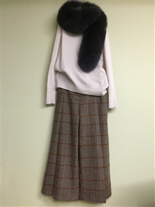 (Best; Back-Order; 2nd Reorder) Charcoal Finland Saga Fox Fur (will ship within 1~2 weeks)
