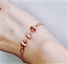 Rose Gold Charm Blacelet