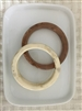 Stylish Bracelet (Ivory/Brown)