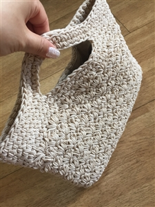 Hand Knitting Tote