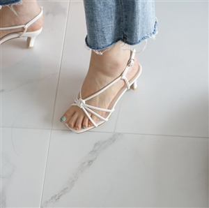 Mano Sandals (Black/Pink/White/Beige) (225~250) (will ship within 1~2 weeks)