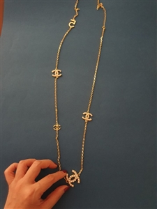 Chain Pearl Necklace (will ship within 1~2 weeks)